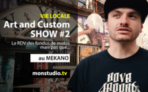 Art and Custom Show #2 au Mekano