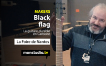 Black Flag, la guitare en Carbone made in Breizh
