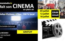 Cet été, monstudio.tv a fait son Cinéma en plein air au Mékano