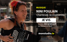 """Nini Poulain : """"Je vis"""""""