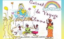 """Parution livre jeunesse """" Carnet de voyage d'Emma"""" pour une association rezéenne, Baoback"""
