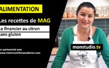 Les recettes de Mag#3 : le financier au citron sans gluten