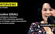 Justine Le Gall, invitée de monstudio.tv