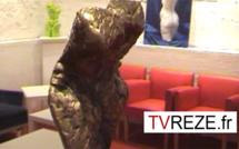 Le sculpteur nantais François Tamalet à La Vinaigrerie