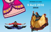 """L'association """"Artistes d'ici... Enfants d'ailleurs"""" vous propose un spectacle de danses des Pays de l'Est !"""