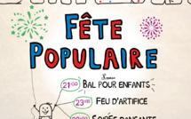 Fête populaire du 13 juillet à Bouaye : un bal pour enfants